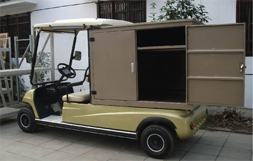 ELECTRIC CLUB CAR FOR HOTEL AND RESORT
