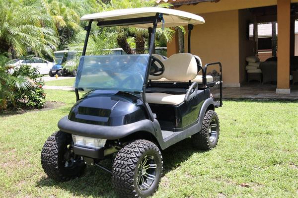 Club Car Precedent New Battery 2017 Green Miami Golf