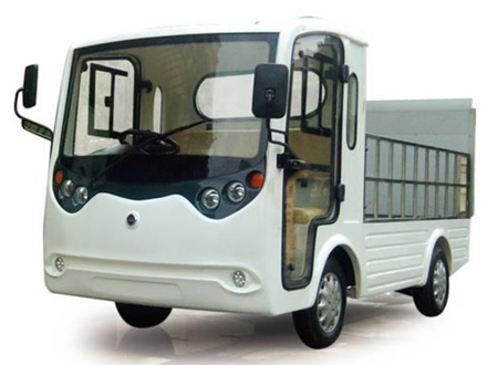 ELECTRIC TRUCK FOR GARBAGE COLLECTION AND UTILITY