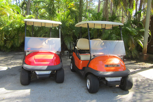 CLUB CAR PRECEDENT 4 SEAT orange or red C124R