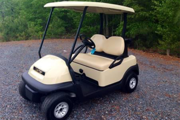 CLUB CAR PRECEDENT, BEIGE $2,650.00, #C122