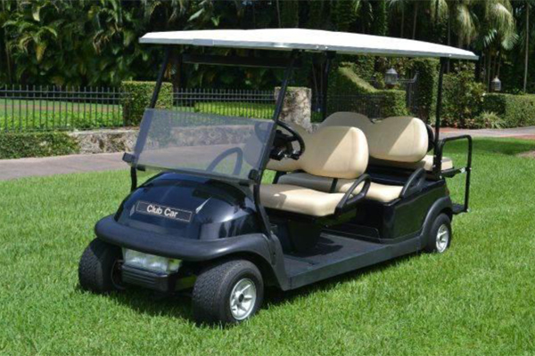2018 CLUB CAR PRECEDENT 6 PASSENGER $7,850 #1826B
