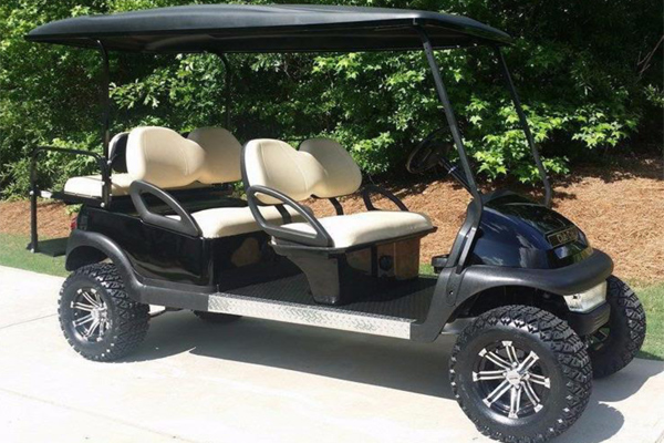 2018 CLUB CAR PRECEDENT 6 PASSENGER LIGHT KIT LIFTED $8,500 #1826LB