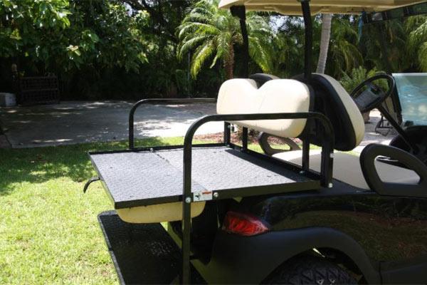 CLUB CAR PRECEDENT 4 SEAT  #C133 rear