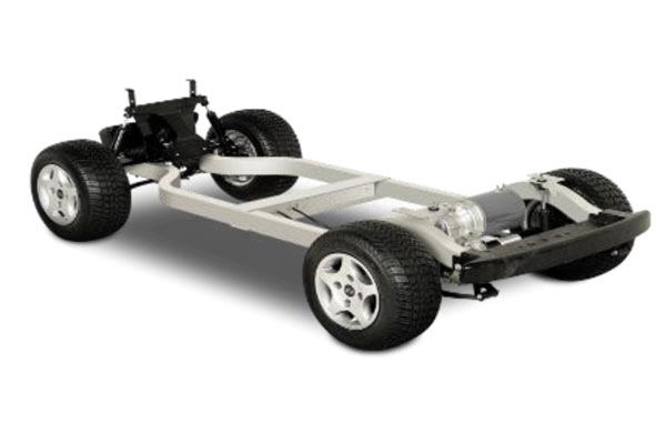 CLUB CAR PRECEDENT 4 SEAT LIFTED Chassis