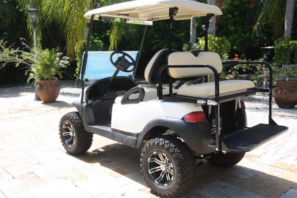 CLUB CAR PRECEDENT 4 SEAT LIFTED rear