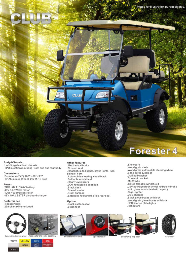 Forester 4 specs