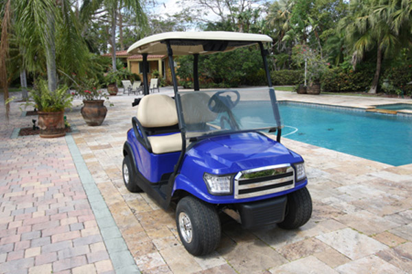 CLUB CAR BLUE 2 SEAT