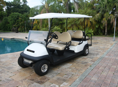 CLUB CAR PRECEDENT 6 passengers #C137 - MIAMI GOLF CARTS NEW