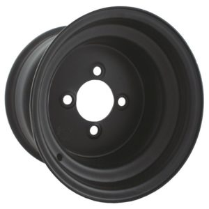 10327 8X7 Black Steel Wheel (3+5 offset)