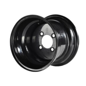 19-077 10x8 MJFX Black Steel Wheel