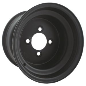 40526 8X3.75 Black Steel Wheel
