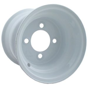 40552 10x8 White Steel Wheel (3:5 Offset)