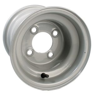 40562 8x7 Club Car Gray Steel Wheel