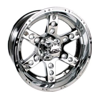 40886 10X7 Chrome Dominator Wheel (3:4 Offset)