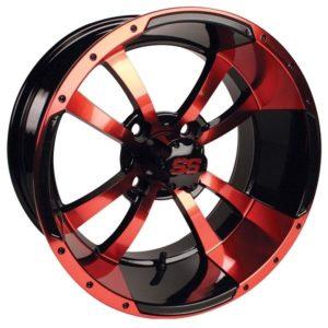 """41071 Storm Trooper 12"""" Red & Black Wheel (3:4 Offset)"""