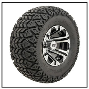 Set of (4) 10 inch GTW Specter Wheels on GTW Recon A/T Tires #A19-221