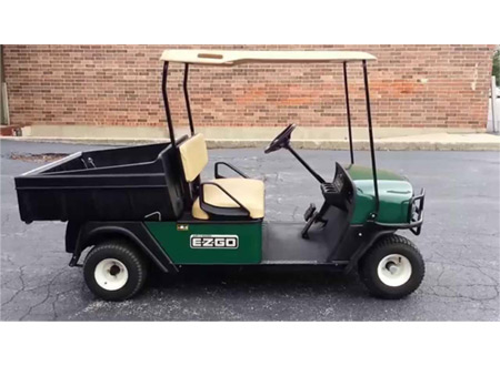EZGO MPT 800 GASOLINE WITH CARGO BOX #E800 MANUAL DUMP