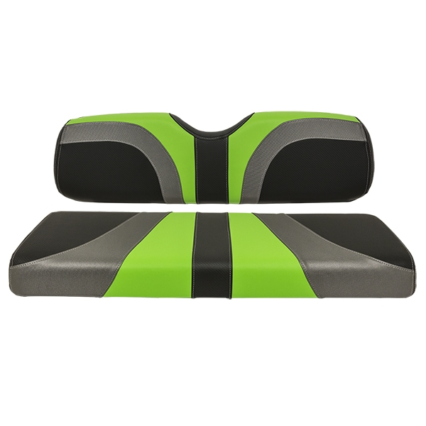 Red Dot Blade Rear Seat Covers For Madjax Genesis 250 300