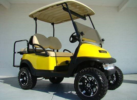 "Club Car Precedent 6"" Lifted, sport all terrain tires & rims $4,990 #L425"