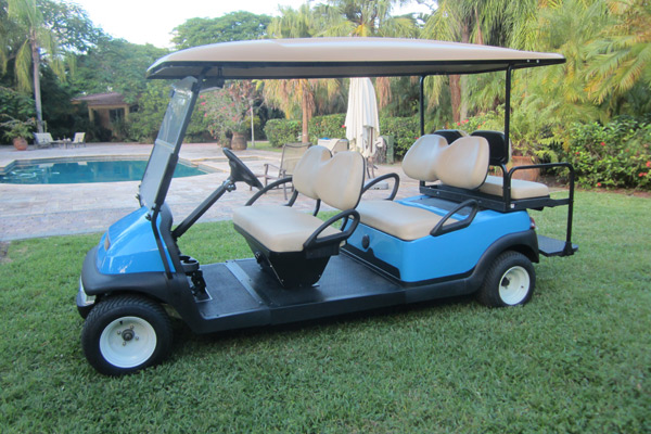 Club Car Precedent blue C625
