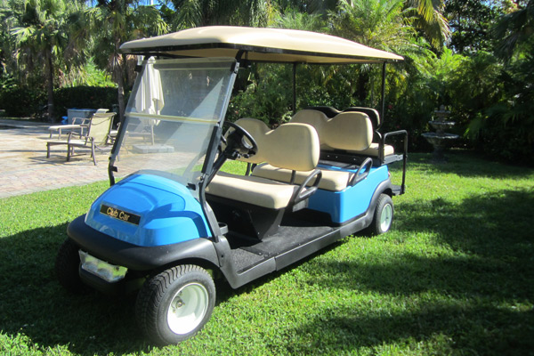 CLUB CAR PRECEDENT ATLANTIC BLUE C625
