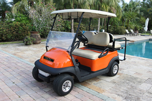 CLUB CAR PRECEDENT 4 SEAT Orange $3,990.00 #C226ty