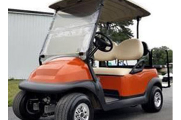 CLUB CAR ORANGE 4 PASSENGERS