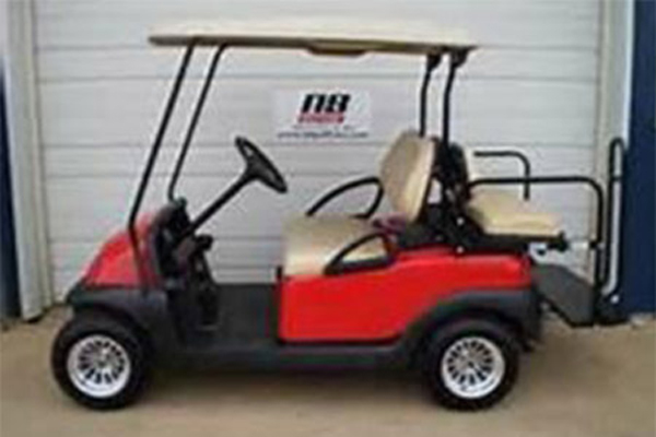 CLUB CAR RED 4 Passengers