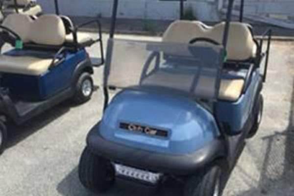 CLUB CAR LIGHT BLUE