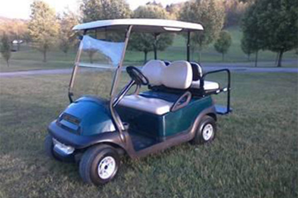 CLUB CAR BLUE