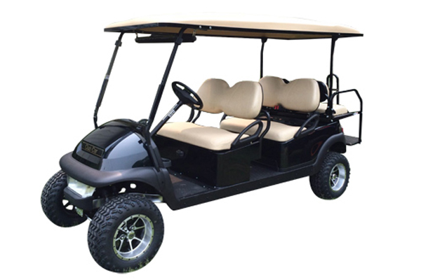 CLUB CAR BLACK 6 SEAT 137B