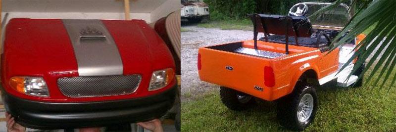 F150 Truck custom golf cart body