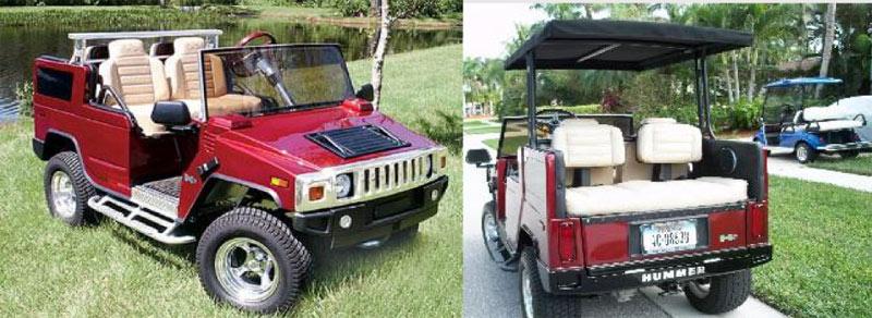 Custom Golf Cart Body - MIAMI GOLF CARTS NEW AND USED