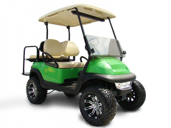 Club Car Precedent 4 Passenger  Lime Green  SKU #468