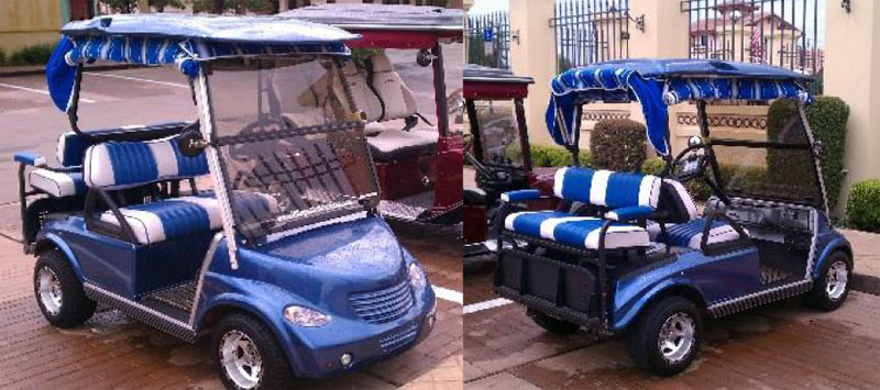PT Crusier- Front Only custom golf cart body