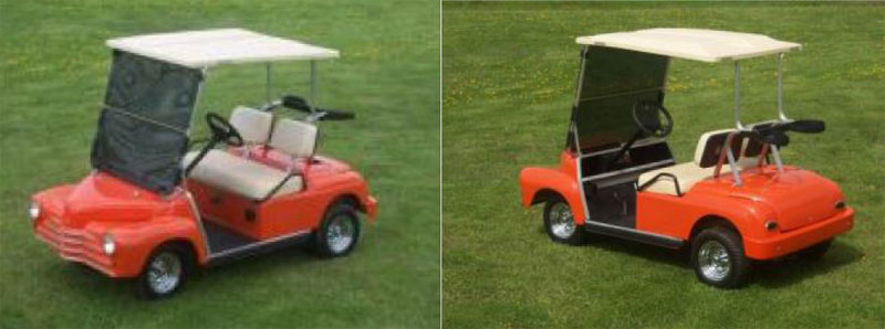 Super Sport SS Car custom golf cart body