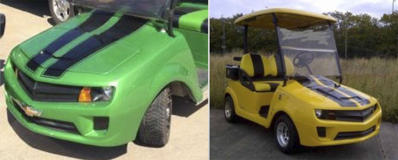 Zamro - New Generation custom golf cart body