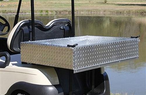 "Aluminum Cargo box 42""with x 30"" long"