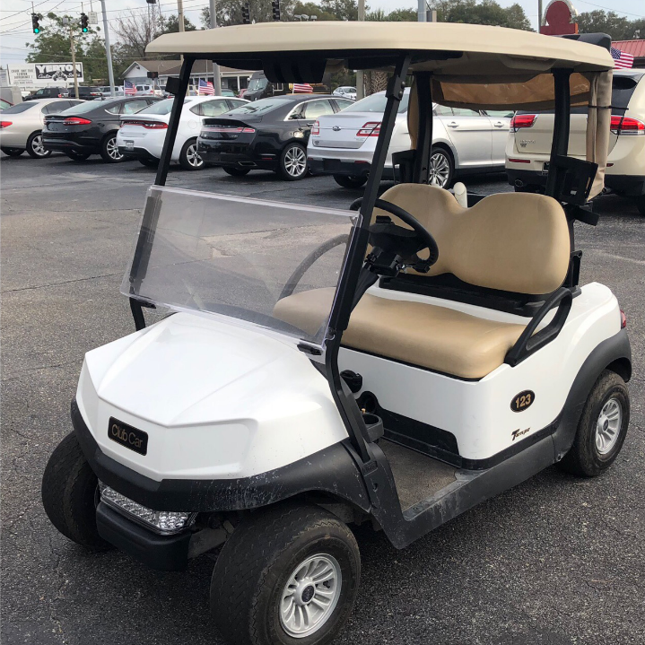 2019 CLUB CAR TEMPO (WHITE)
