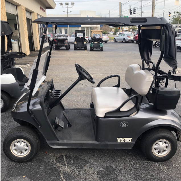 BATTERY POWERED: 2016 EZGO TXT (CHARCOAL)