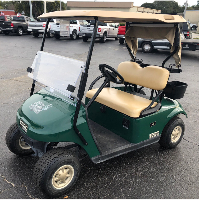 BATTERY POWERED: 2016 EZGO TXT (GREEN)