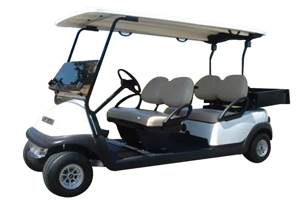 Club Car Precedent 4 seater forward facing with cargo Luggages Box Hotel Resort # 647