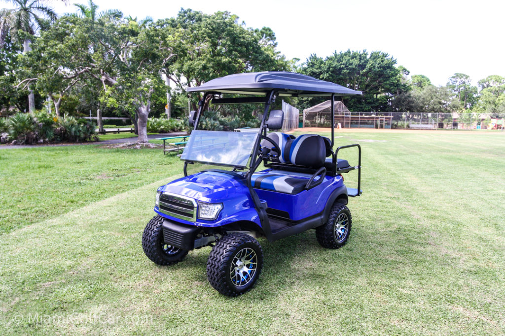 Club Car Precedent 4 Passenger Alpha - SKU #464