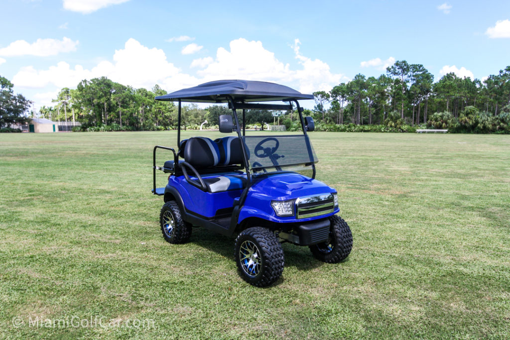 Club Car Precedent 4 Passenger Alpha - SKU #464 side front