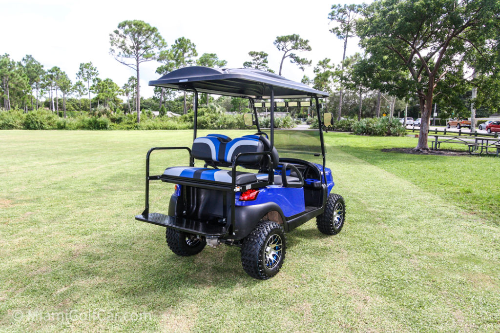 Club Car Precedent 4 Passenger Alpha - SKU #464 side back