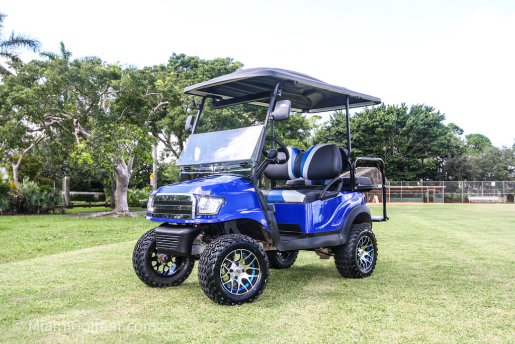 Club Car Precedent 4 Passenger Alpha - SKU #464 side