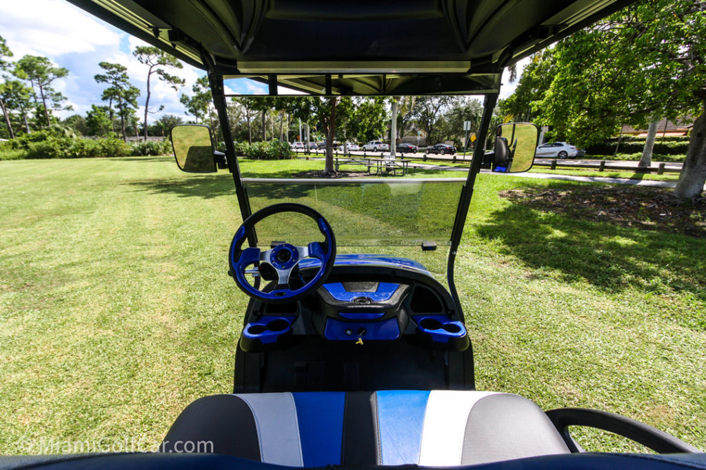 Club Car Precedent 4 Passenger Alpha - SKU #464 dash