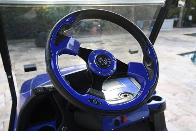 Optional: Custom steering wheel  $165.00