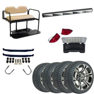Club Car Precedent One Box One Car All-In-One Non-Lifted Kit (Years 2004-Up)